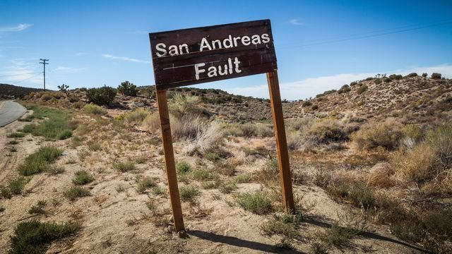 La faille de San Adreas est prête et plus que prête