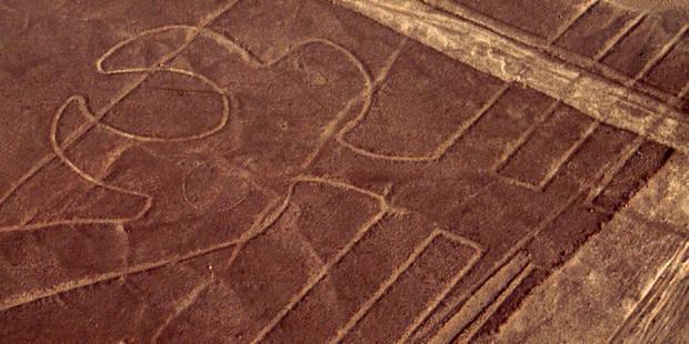 Un nouveau géoglyphe découvert dans le désert de Nazca
