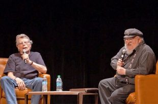 QUAND GEORGE RR MARTIN RENCONTRE STEPHEN KING