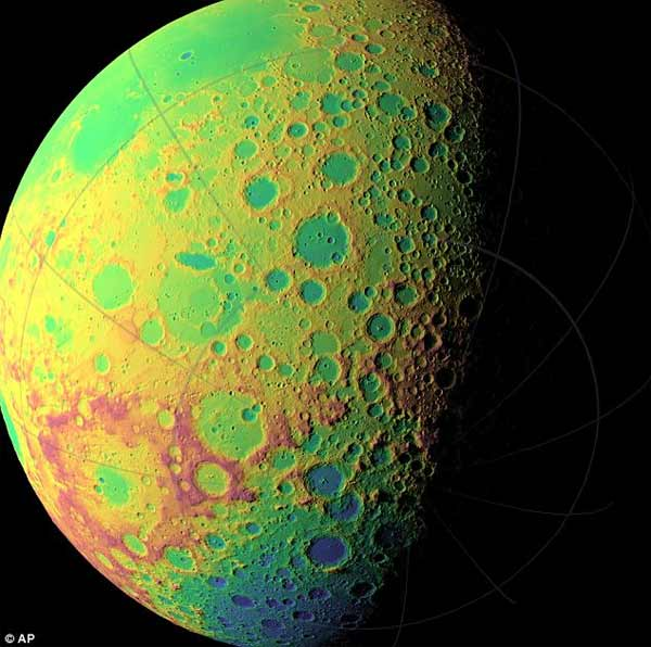 Des photos de la NASA confirment que la Lune est artificielle?