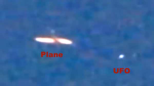 Un OVNI passe près d'un avion de ligne dans le ciel de Trujillo, au Pérou
