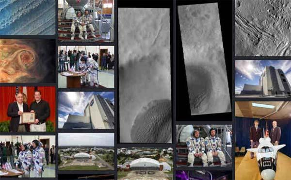 La NASA met en ligne une nouvelle bibliothèque avec des milliers de médias libres de droits
