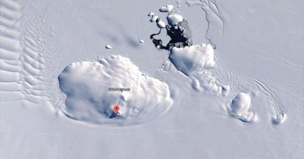 Un Russe pense avoir découvert un Ovni en Antarctique dans Google Earth