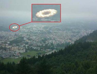 Une soucoupe volante photographiée à Lourdes