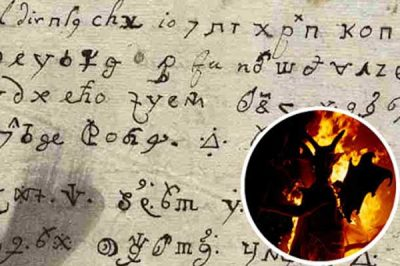 Une lettre écrite par le Diable décodée !