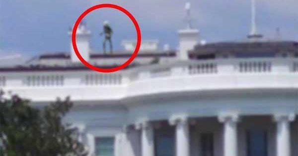 Vidéo: Un extraterrestre sur le Toit de la Maison Blanche