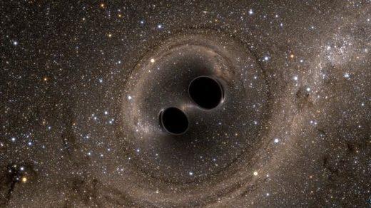 La fusion de deux « petits » trous noirs permet une nouvelle détection d'ondes gravitationnelles