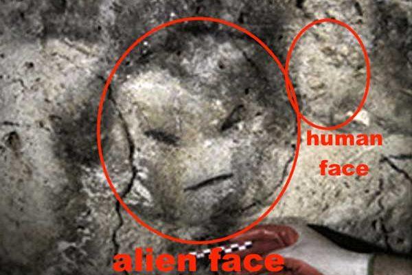 Un visage extraterrestre découvert sur une île non loin de Porto Rico