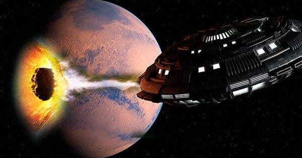 Vidéo: Un OVNI a sauvé la Terre de l'impact d'un astéroïde dévastateur, selon des théoriciens de la conspiration