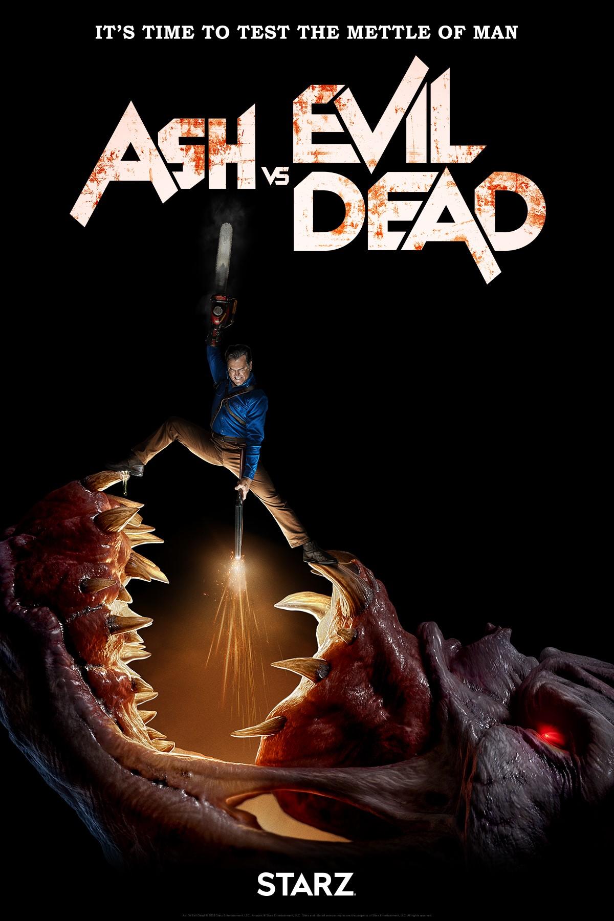 ASH VS EVIL DEAD SAISON 3: STARZ DÉVOILE UNE BANDE-ANNONCE