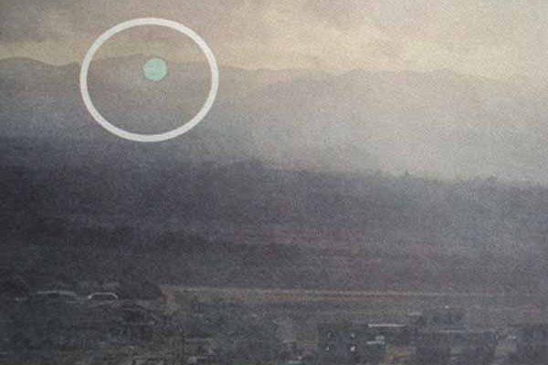 Un OVNI sphérique pris en photo sur l'île de Chypre