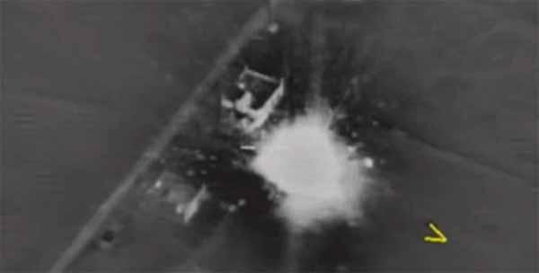 La Russie a bombardé un campement d'Annunaki