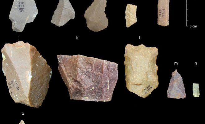 Des outils en pierre vieux de 250.000 ans mettent en cause notre préhistoire