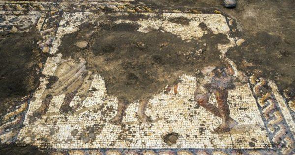 Sublime: Une mosaïque vieille de 1.800 ans découverte en Israël