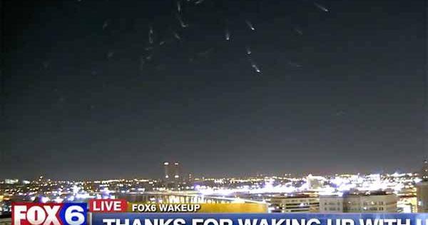 """Vidéo: Des """"boules de feu"""" sont apparues dans le ciel de Milwaukee, et semblent se déplacer avec intelligence"""