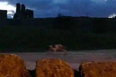Une créature très bizarre a été photographiée au château de Sandal