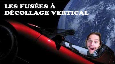 Vidéo: Terre plate – La fusée à décollage vertical