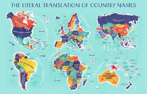 Les Vrais noms des pays