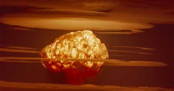 Des images en couleur de la plus puissante arme nucléaire jamais déclenchée par les États-Unis, prises à une distance de 80 km