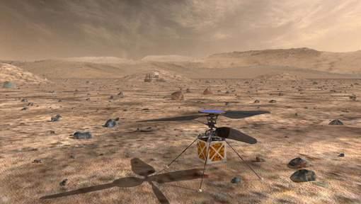 La NASA, qui annule une banale mission sur la Lune, va envoyer un hélicoptère sur Mars