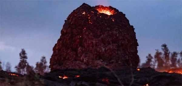 "Vidéo: Des ""œufs de lave extraterrestres"" apparaissent un peu partout à Hawaï"
