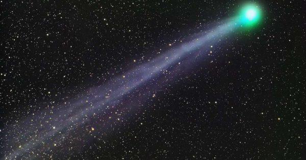 PanSTARRS C/2017 S3: la comète Incredible Hulk dans notre ciel cette nuit!