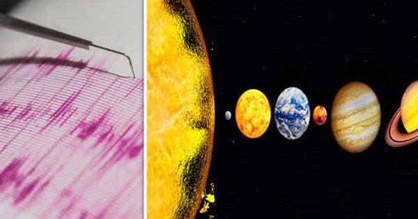 Des secousses sismiques massives frapperont lors de l'alignement planétaire qui aura lieu cette semaine