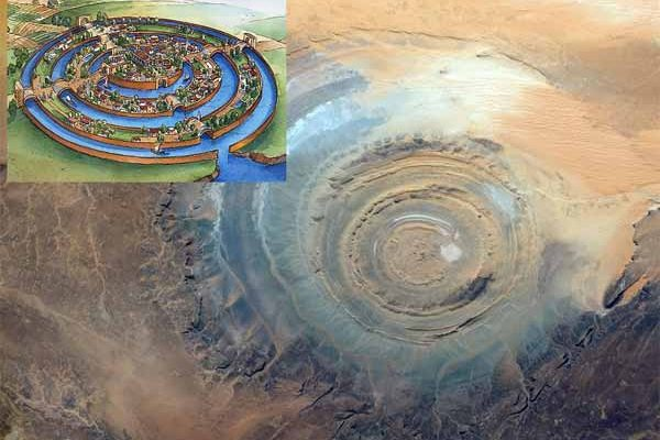 La Cité Mythique de l'Atlantide aurait été retrouvée dans le désert du Sahara