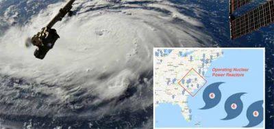 Ouragan Florence : De nombreuses centrales nucléaires risquent d'être directement touchées