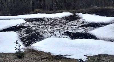 Des traces d'atterrissage d'OVNIs laissées dans la neige repérées dans une village isolé en Argentine