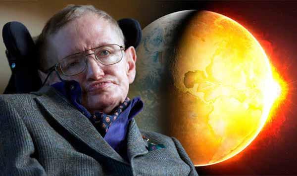 """Le dernier avertissement de Stephen Hawking : """"QUITTEZ LA TERRE ou soyez confrontés à votre propre ANNIHILATION."""""""