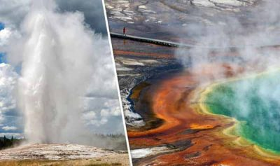 """L'éruption du volcan de Yellowstone : Les responsables avertissent qu'il est """"IMPOSSIBLE"""" de faire le suivi du système"""