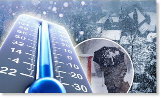 Réchauffement climatique: Ah non, les relevés montrent un refroidissement....