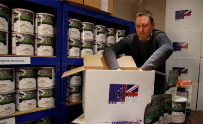 APOCALYPSE : Une « Brexit Box » à 295 livres pour survivre