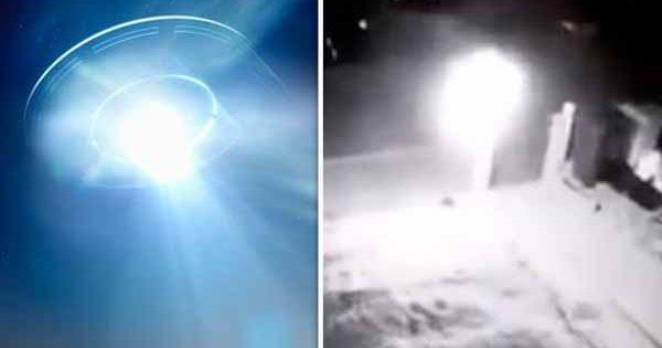 """Observation d'OVNIS : Un vaisseau """"avec des extraterrestres à bord"""" vu en train se de poser dans un jardin à Doncaster"""