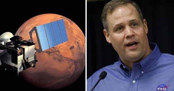 """Nous sommes """"sur la bonne voie"""" pour découvrir la vie EXTRATERRESTRE, a déclaré le chef d'agence de la NASA"""