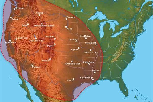 """Le volcan de Yellowstone est """"sur le point d'EXPLOSER"""" et le gouvernement Américain ne nous le dira pas"""