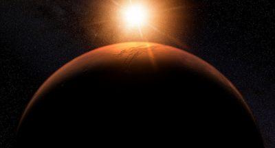 Une zone de vie gigantesque découverte sur Mars