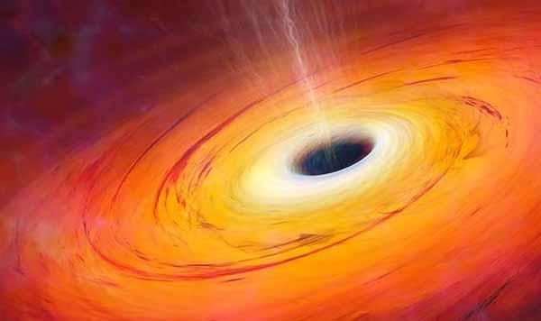 """TROU NOIR : Comment des scientifiques """"ont pu voir à l'INTÉRIEUR de l'espace-temps pour la PREMIÈRE fois"""""""