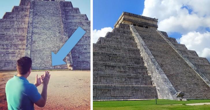Vidéo - L'acoustique mystérieuse de la pyramide maya de Kukulkan