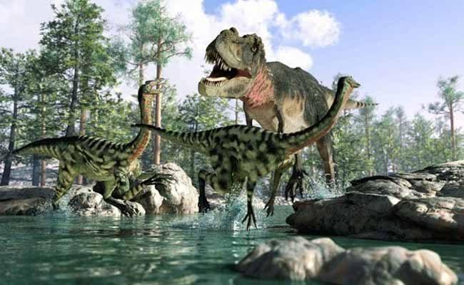 """Les dinosaures n'ont pas été éradiqués par un astéroïde mais par une """"pénurie de LACS SEXUELS"""""""