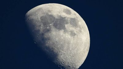 La Lune serait en train de rétrécir