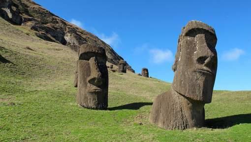 Île de Pâques: L'emplacement des monolithes ne serait pas le fait du hasard