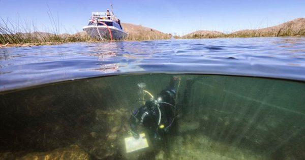 Les traces d'une mystérieuse civilisation retrouvées au fond du lac Titicaca