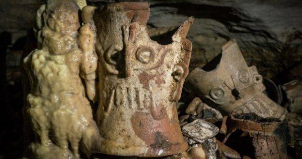 Découverte sur un site maya d'un «trésor scientifique»