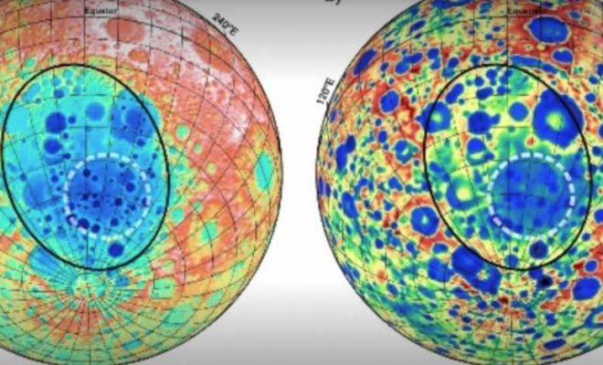 Une étrange masse d'origine inconnue découverte sous la face cachée de la Lune