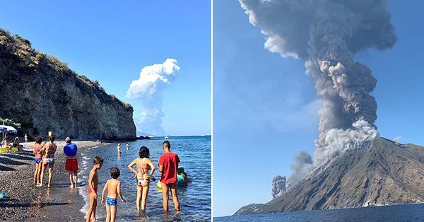 Italie: éruption massive du Stromboli (1 mort)
