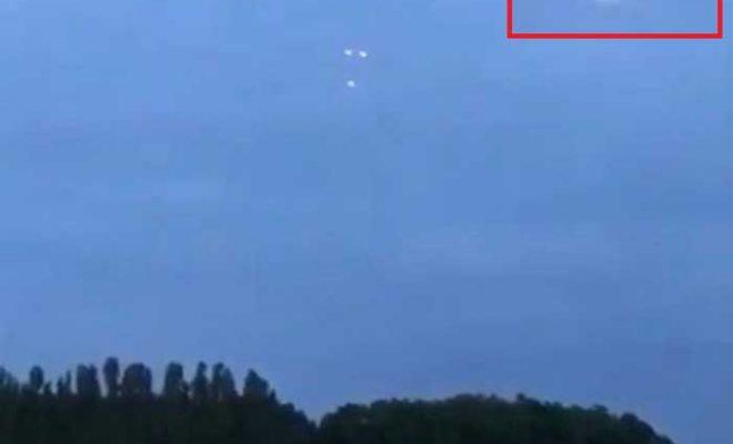 Trois OVNI filmés à Bevingen, en Belgique