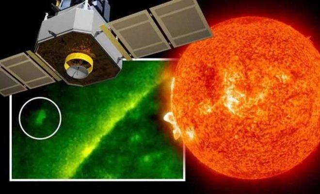 """Un satellite de la NASA a repéré un engin spatial extraterrestre plus grand que la Terre"""" près du Soleil"""