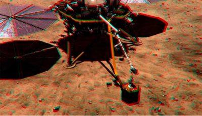 L'atterrisseur InSight de la NASA a détecté des bruits flippants sur Mars